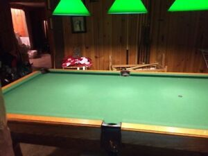 Table de billard / Pool table haute gamme