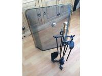 Fire guard & tool set