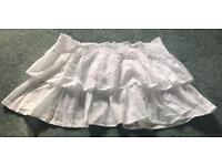 *Brand New With Tags* Ladies White Summer Skirt ~ Size 12