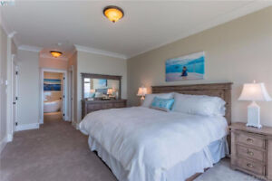 This unique home boasts 2 bedrooms and den 3 bathrooms including