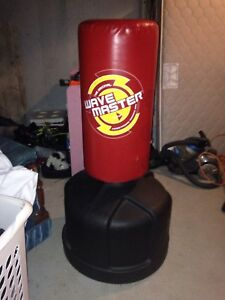 Punching bag u can make it higher and smaller