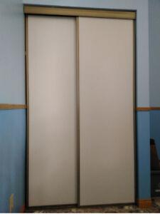 5 x Sliding Closet Doors