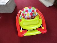 baby walker rocker ext very clean and looked after sold as it is