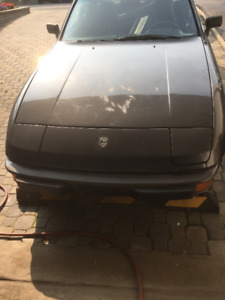 porsche 924 1980  ( PROJECT} not complete