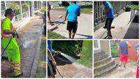 Concrete and Interlock Sealing Specialists + FENCE/DECK SEALING