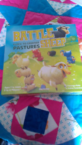 Battle of the sheep board game