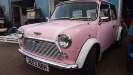 MINI COOPER 1275 PINK AND WHITE 1992 CLASSIC FULLY RESTORED