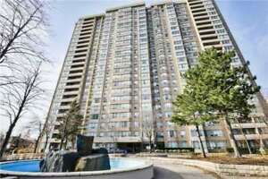 Immaculately Clean And Well Maintained.Luxury Spacious 2+1 BR