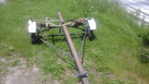selling boat trailer