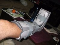 WANTED: boot cast for ankle