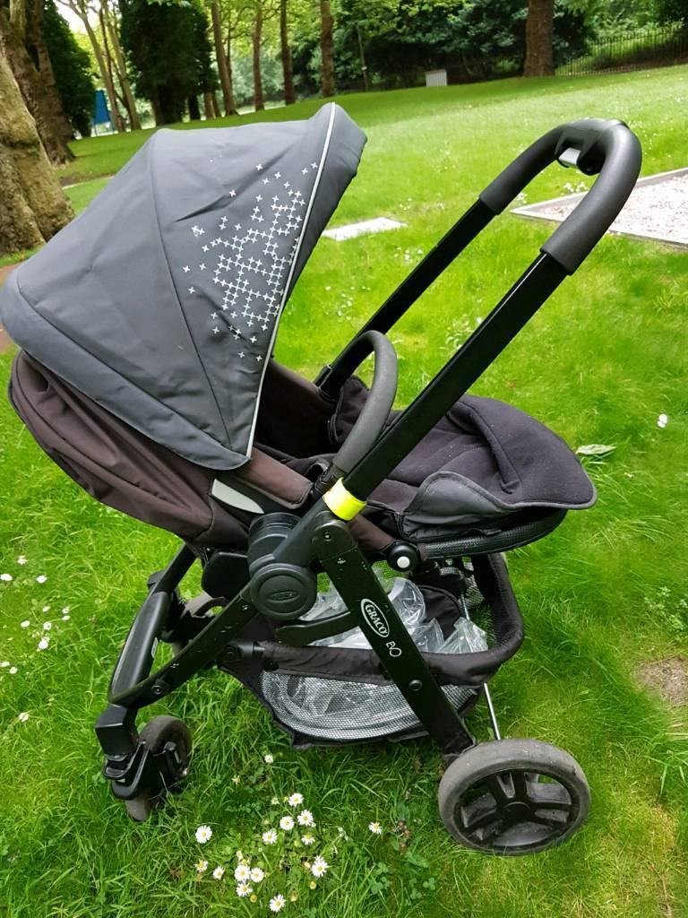 Graco Baby Pram/ Stroller in Mint conditionin Liverpool, MerseysideGumtree - Its almost new, good quality Graco baby pram that is easily foldable into 2 pieces. The chair is fully adjustable to set the baby seat either facing front or back. The pram is easy to use, strong built, safe & excellent in quality & only been used...
