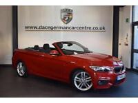 2015 65 BMW 2 SERIES 2.0 220D M SPORT 2D AUTO 188 BHP DIESEL