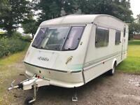 Elddis Jetsream XL touring caravan