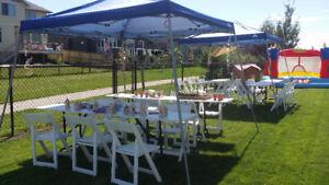 Bargain Rentals for Weddings, Parties, Picnics, Outdoor Event