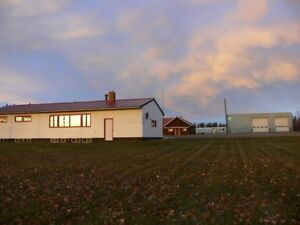 5 Paved Minutes from Fort Nelson, Large Property For Lease