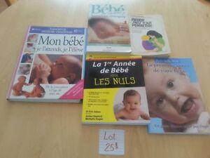 Lot de livre bébé-Maternité