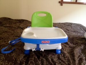 Peg Perego High Chair AND Fisher Price booster chair