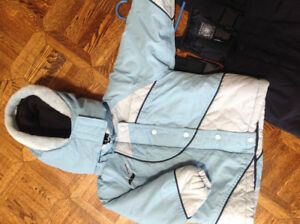 GUSTI EXTREME Snow Suit with Adjustable Bib Snowpants Size 3