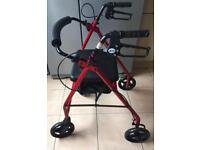 Walking Aid With Seat