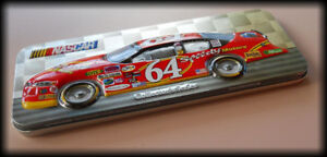 NASCAR Magnetic Mini-Fun Embossed metal Litho Tin