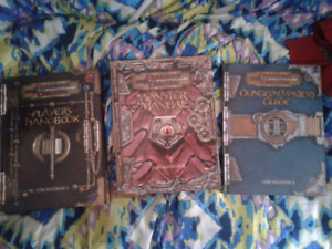 Dungeons & Dragons rule books