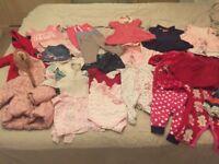 3-6 months girls clothes bundles