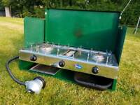 PARKER 552 CAMPING 2X BURNER & GRILL