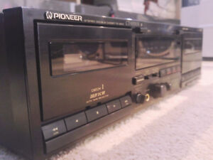 Pioneer CT W503R Deck stereo Double Cassette REcorder