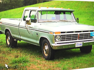 1975 Ford F350