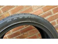 Maxxis used tyre 235/45/19