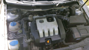 Volkswagen tdi diesel engine and automatic transmission