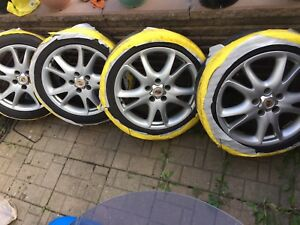 """Porsche Mags Original, Mags 20"""" , 17"""" Staggered 500$"""