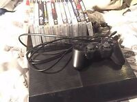 PS3 BUNDLE Works perfect, 14 games, all the cables, 1 controller