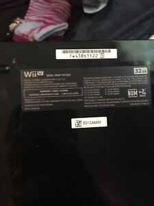 1 year old wii u for sale