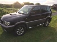 Nissan Terrano 51 plate ideal work vehicle- priced to sell