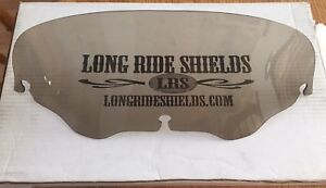 Long Ride Shield 8 inch tinted