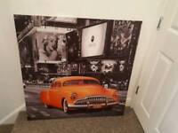Extra large NY canvas as new.
