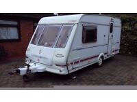 CARAVAN CLARION HERALD 2000 model 2 berth with full awning