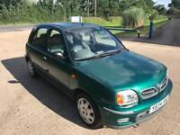 NISSAN MICRA 1.0 SE AUTOMATIC 45K MILES 1 OWNER FROM NEW DRIVES THE BEST LOW INSURANCE .. AIR CON..