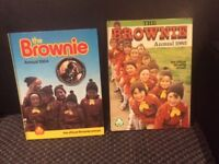 Brownie annuals 1982 and 1984