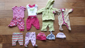 Preemie clothing lot in excellent condition