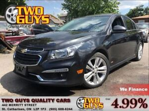 2015 Chevrolet Cruze 2LT R/S PACKAGE NAVIGATION ALLOY LEATHER