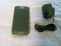 Samsung Galaxy s4 Mini gt-i9195-8gb Black Mist Unlocked Mobile Phone (w2)