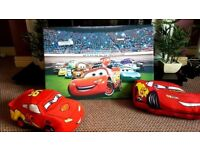 Disney cars bedroom accessories