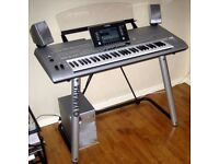 Yamaha tyros 5 (76 notes) with expansion memory and voices/styles