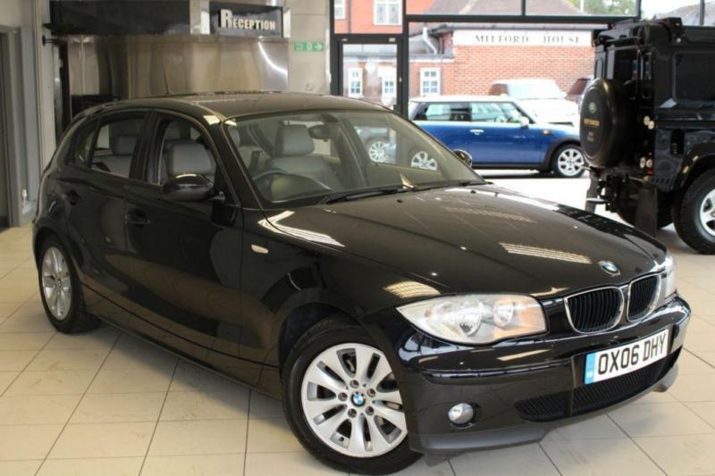 2006 06 BMW 1 SERIES 2.0 118I SE 5D AUTO 128 BHP