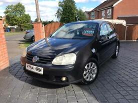 Volkswagen Golf 1.6 Fsi Sports 5 Door - **LONG MOT/S.H/LOW MILES/2 OWNERS**