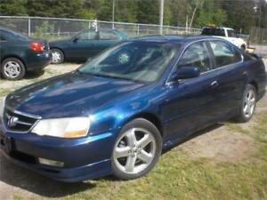 2003 Acura TLType S Navigation and DVD