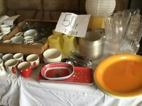 Assorted kitchen and Dining 50p each item or make me an offer for the lot
