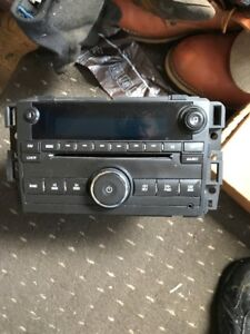 2007-2012 Chev- GMC Radio with 6 disk changer